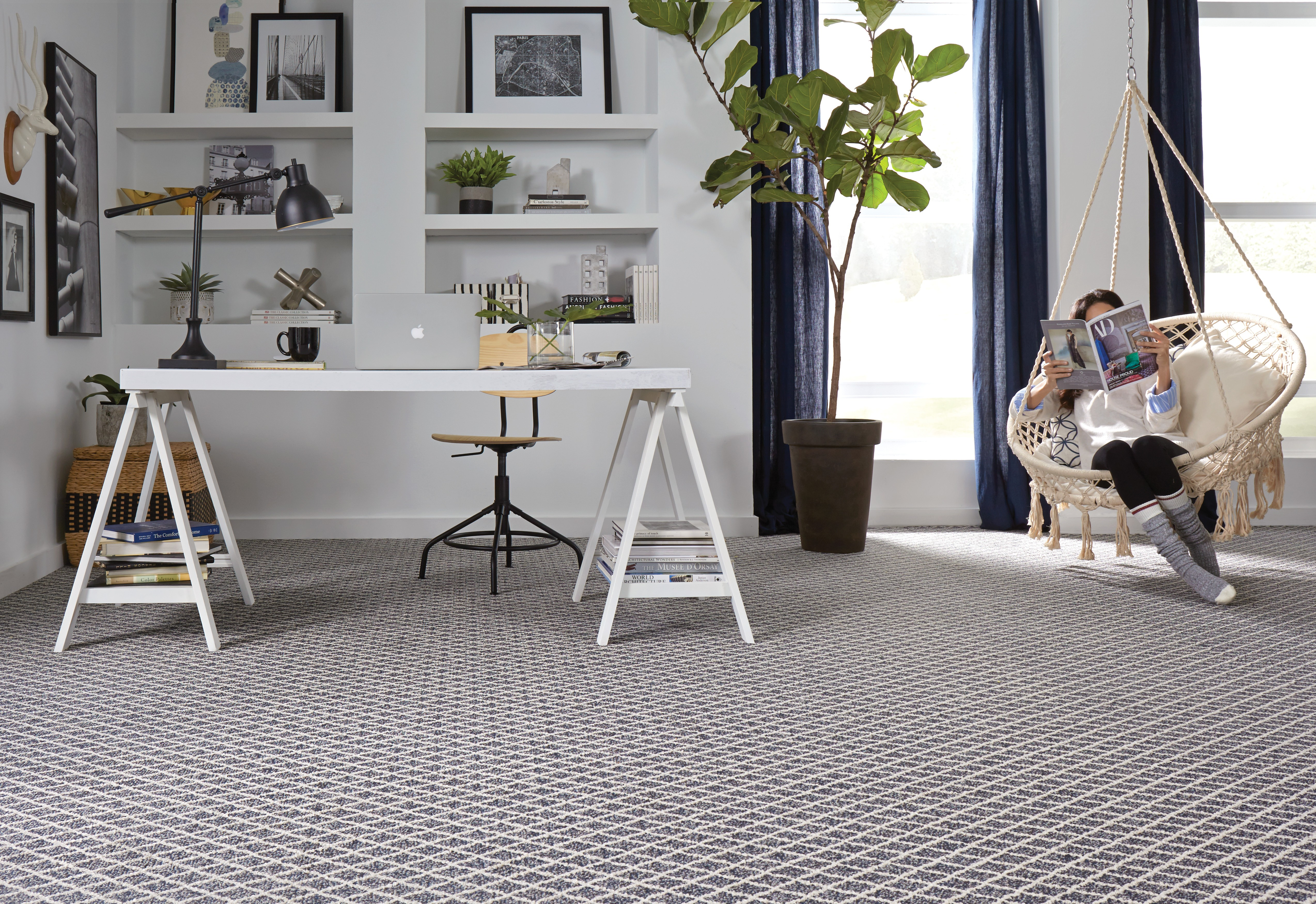 Springers Point Seaport Blue Carpeting | Owens Supply Company, Inc