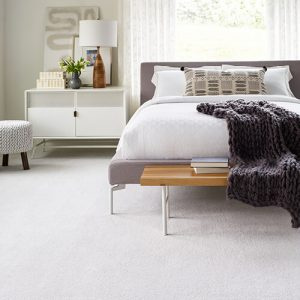 White carpet for bedroom | Owens Supply Company, Inc