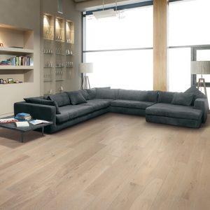 Modern living rom with vinyl flooring   Owens Supply Company, Inc