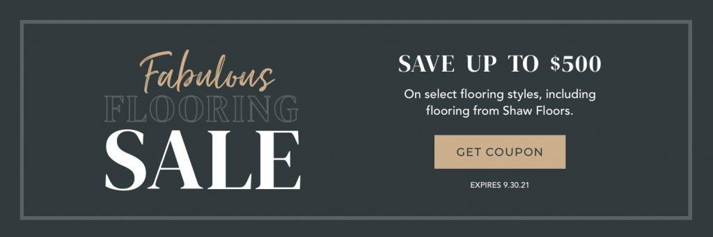 Fabulous Flooring Sale